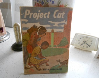 1969 Scholastic Book Project Cat TX 1602 By Nellie Burchardt