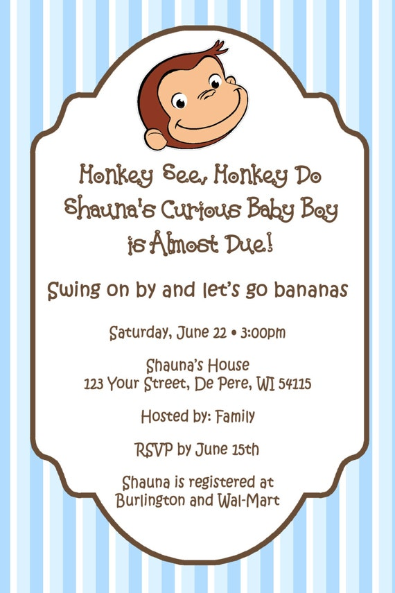 Vintage Baby Shower Invitation as perfect invitations design