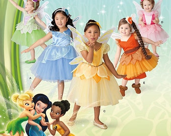 Disney Fairy Dress Patterns Simplicity 1792  Size AA