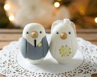 Wedding Cake Topper - Love Birds - Medium