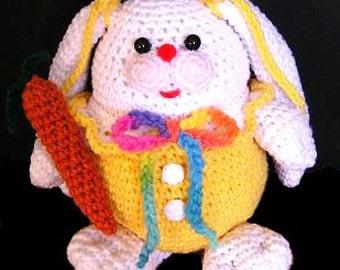 PUDGY BUNNY PDF Crochet Pattern