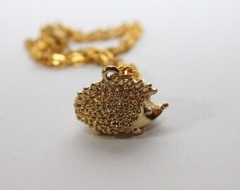 SALE-Hedge Hog Necklace