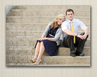 Photo Save The Date Magnets or cards, modern save-the-date postcards, Modern Save the Date, Digital Save the Date, custom Save the Date