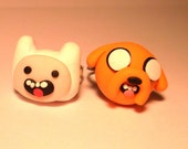 Jake the dog and finn the human best buddy ring set of 2