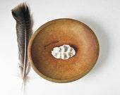 Vintage Wood Dough Bowl - Handhewn Treenware - BeeJayKay