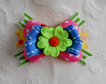 Dog Bow- Spring Blossom Boutique Dog Bow In your choice of color