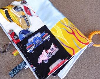 I Spy Super Soft  and Snuggly Car Minky Stroller Blanket