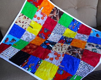 Sporty Interactive I Spy quilt
