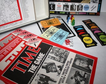SALE, Vintage 1983, TIME the GAME,Complete, History Trivia Game, by John N. Hansen Co.,Must have for History, trivia buff