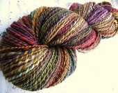 Walk The Line - handspun yarn -  214 yards