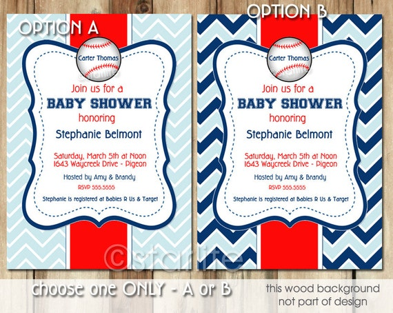 baseball baby shower invitation boy little slugger sprinkle invite, Baby shower invitations