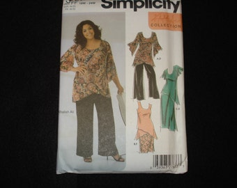 Simplicity women's separates pattern