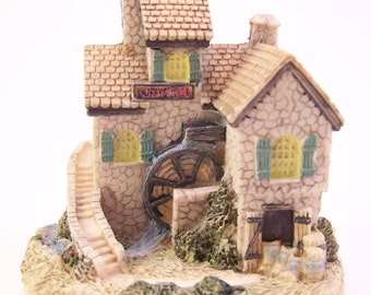 vintage the American collection duffys mill house small mill miniature mill decor
