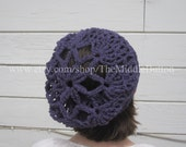 Bridget - Cozy Snood - In Lilac