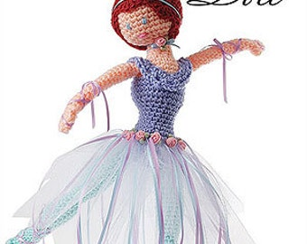 Elsbeth Ballerina Doll Crochet pdf Pattern