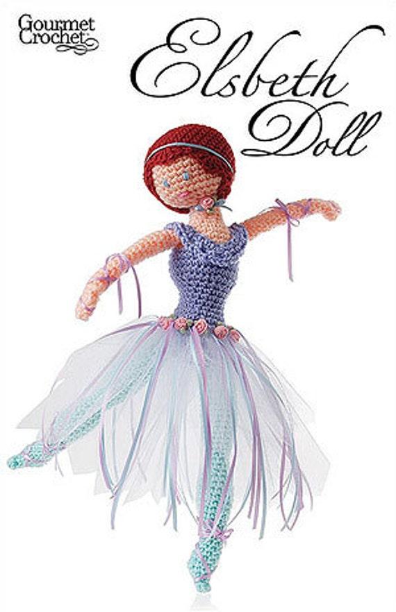 Amigurumi Ballerina Doll : Elsbeth Ballerina Doll Crochet pdf Pattern