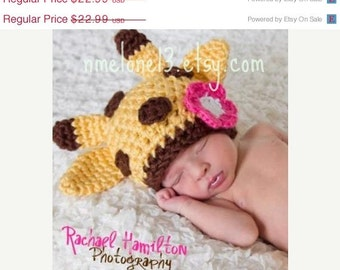 Giraffe crochet hat newborn crochet giraffe hat baby crochet giraffe hat prop crochet hat