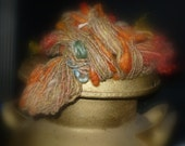 Arizona Desert Cactus - Hand spun Art Yarn - 2 skeins