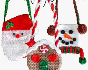 Holiday Purse Set 1 Crochet Pattern PDF
