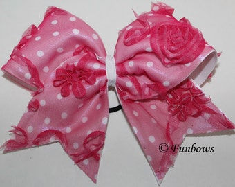 Unique in PINK Cheerleading Bow by Funbows