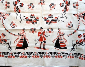 Lovely linen tablecloth
