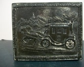 Horse and Carriage Jewelry Box