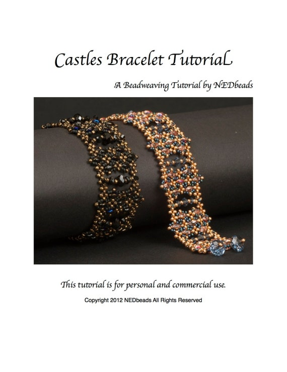 Castles Bracelet - A Beadweaving Tutorial