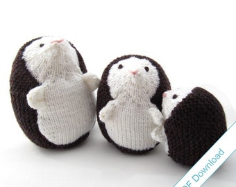 Hedgehog Knitting Pattern PDF. Knit Your Own Woodland Creatures