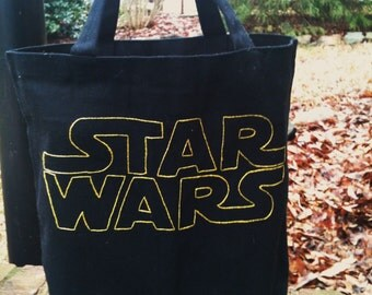 Star Wars canvas tote bag