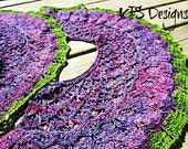 From the Vine Knitted Shawl Pattern