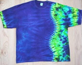 5X Short Sleeve Tie Dye