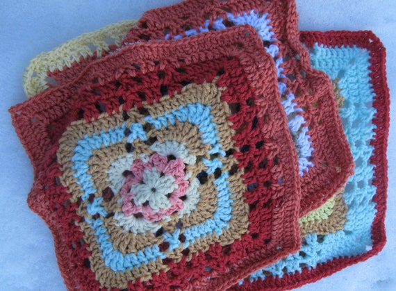 How To Crochet A 6 Inch Square