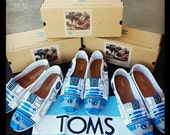 Custom Made R2D2 Toms or Vans! Made to order in ANY size available!