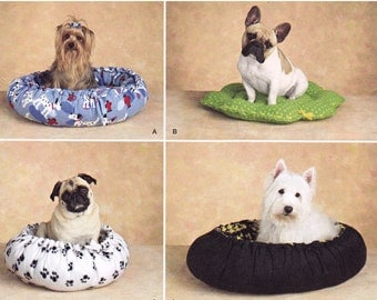 Simplicity 2297 - Dog Bed Sewing Pattern - Pet Bed Sewing Pattern - Uncut, FF