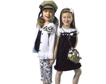 Girls Separates Sewing Pattern - Girls Cardigan Sewing Pattern - McCalls 6542 - Size 2, 3, 4, 5 -  Uncut, FF