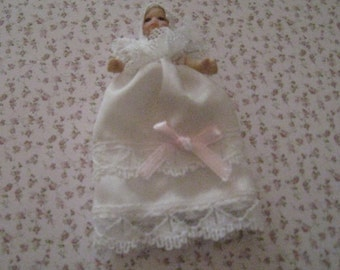 Baby doll.  twelfth scale dollhouse miniature