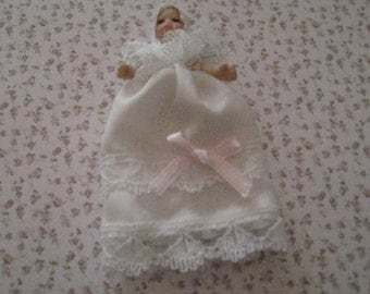 Dollhouse Baby doll. miniature doll, doll, tiny doll,  dollhouse,  twelfth scale dollhouse miniature