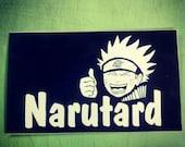 Narutard Naruto Stickers