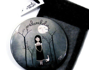 Melancholia - Pocket Mirror