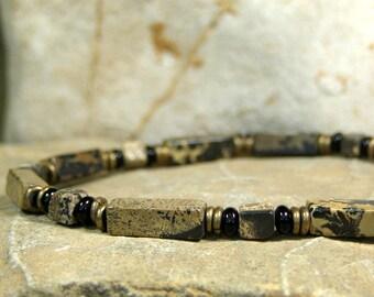 Mens Beaded Bracelet, Men's Jewelry, Stack Bracelet, Southwest Native American, Tribal Jewelry, Mens Jewelry, Bracelet for Men