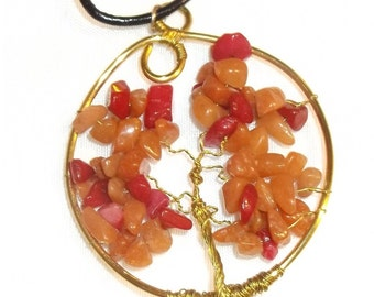 Tree of Life Necklace - 1356
