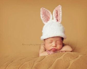 Newborn Bunny hat FREE SHIPPING