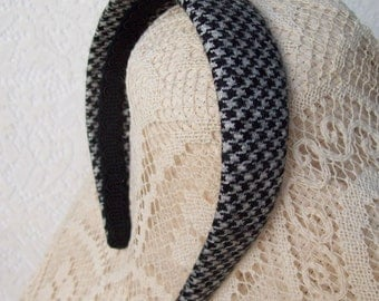 Houndstooth Headband Wool Classic LAST ONE