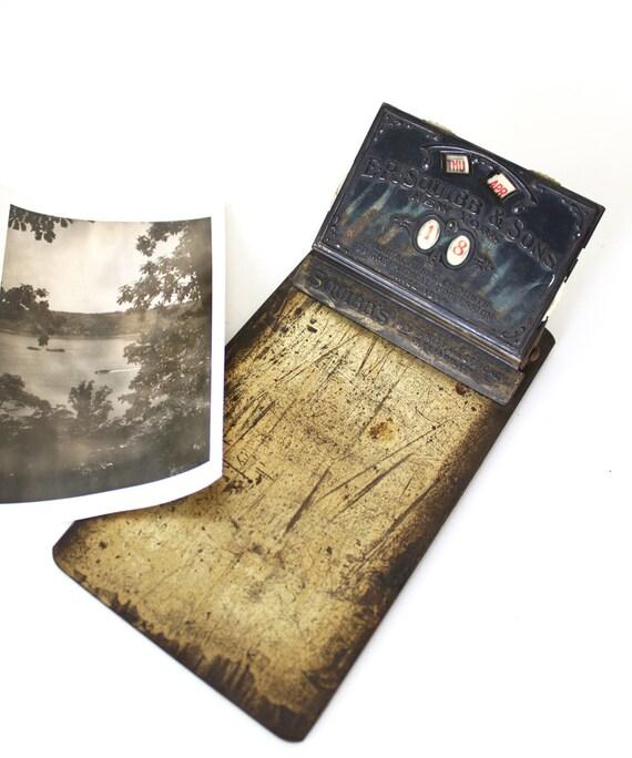 Perpetual Calendar Vintage : Vintage perpetual calendar clipboard by luckylittledot on etsy