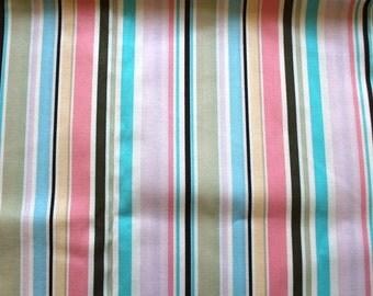 Destash - Pink Stripes Brother and Sister Design Studio Fabric