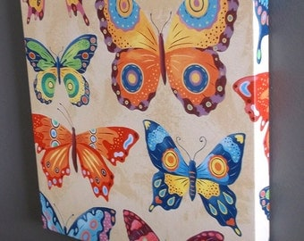 Butterfly Collection Gallery Wrapped Canvas Print Multiple Size Options
