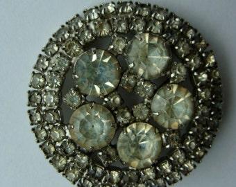 Antique Stunnning Rhinestone Brooch