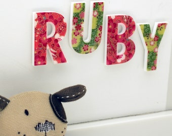 decorative letters for children's room - girls names