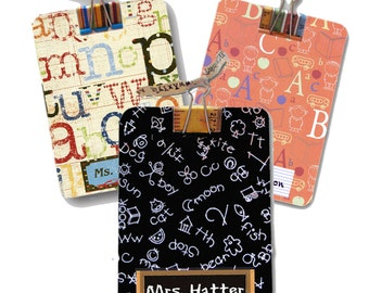 Teacher Gift Mini Clipboard Personalized