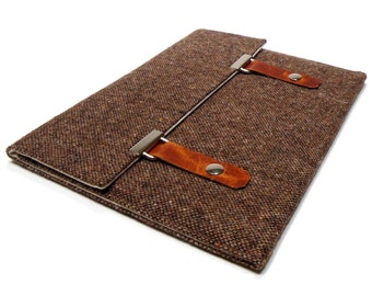 "15"" Macbook Pro Retina case - brown tweed"
